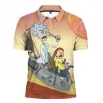 Collectibles - Polo Shirt Rick And Morty Apparel Art Merch