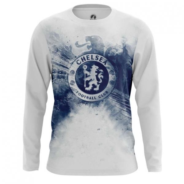 Buy Long sleeve mens t shirt Chelsea F.C. Merchandise Fan Art Logo  Merchandise collectibles 66d90ab2a