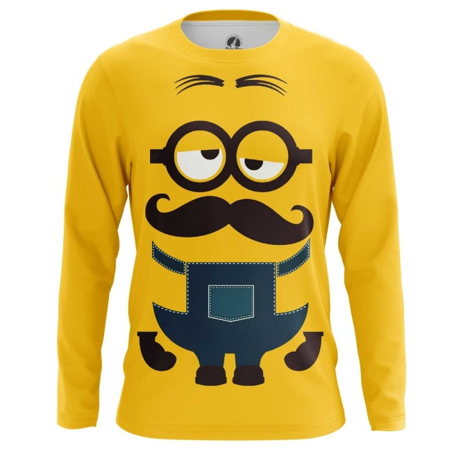 Buy Long sleeve mens t shirt Minions despicable me Apparel merchandise collectibles