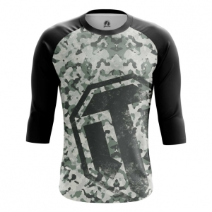 Buy Raglan sleeve mens t shirt World of Tanks Navi Military Pattern Merchandise collectibles