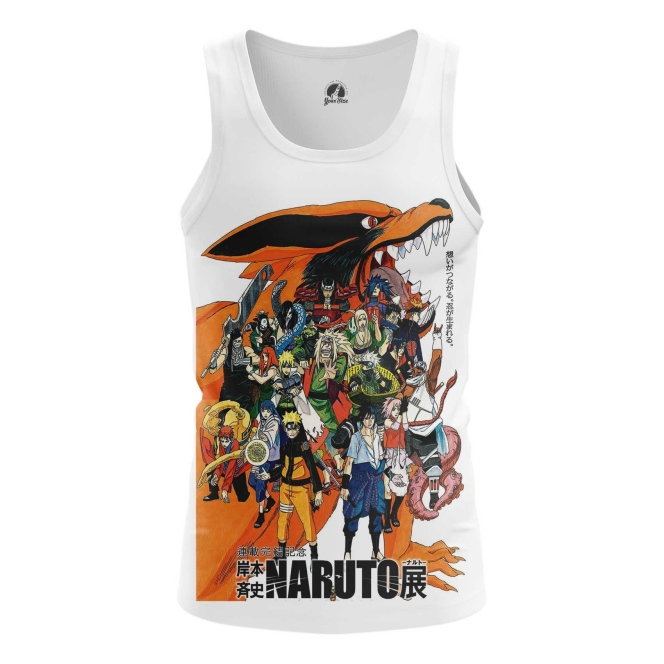 Buy Tank mens t shirt Naruto merchandise Anime TV series Merchandise collectibles