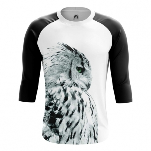 Buy Raglan sleeve mens t shirt Polar Owl Birds Art Animals Apparel Shirts Merchandise collectibles
