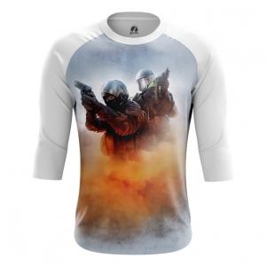 Buy Raglan sleeve mens t shirt CS GO Shooter Merchandise Game sport Merchandise collectibles
