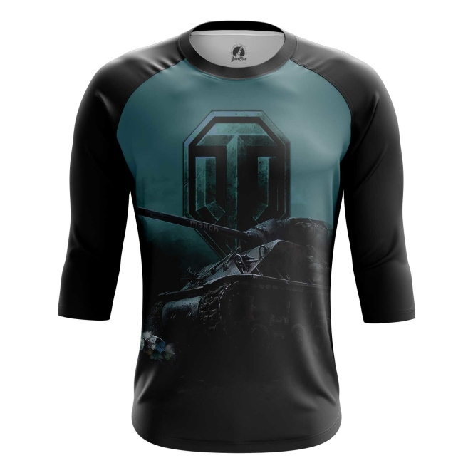 Buy Raglan sleeve mens t shirt World of Tanks Merchandise arcade Apparel Merchandise collectibles