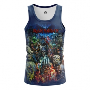 Buy Tank mens t shirt Iron Maiden Merchandise Apparel Merchandise collectibles