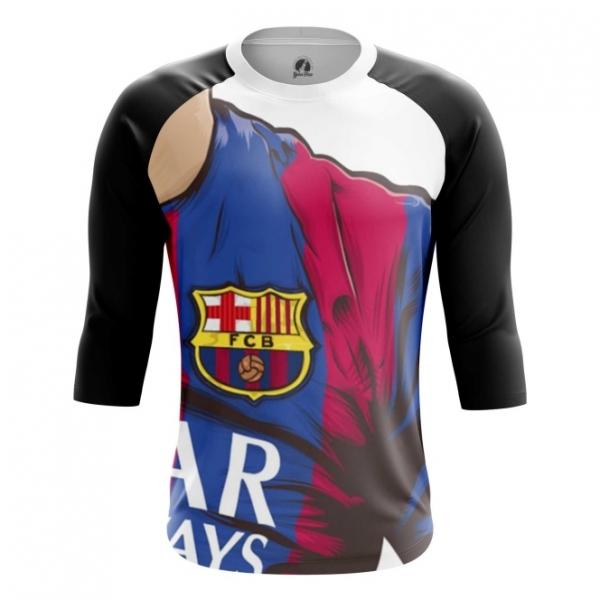 e8b87170a29 Raglan sleeve mens t-shirt Barcelona FC Fan Art. main 4mjwqctd-1522340195
