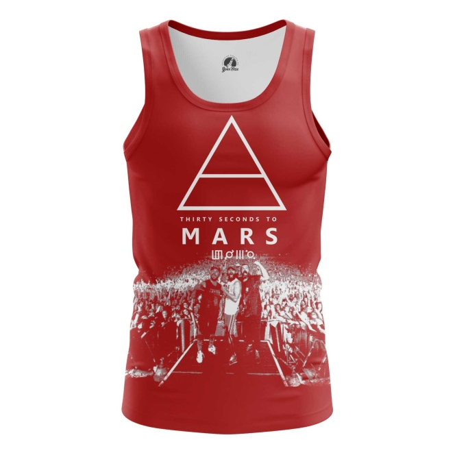Buy Tank mens t shirt 30 Seconds to Mars Band Fan Merchandise Music Merchandise collectibles