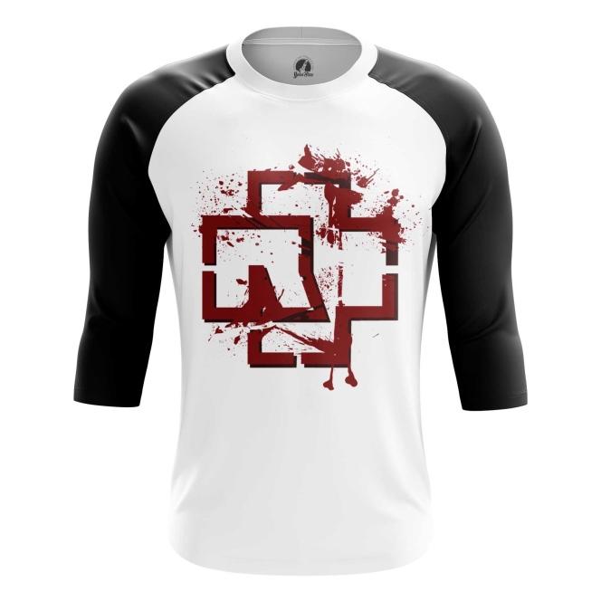 Buy Raglan sleeve mens t shirt Rammstein Merchandise Band Apparel Merchandise collectibles