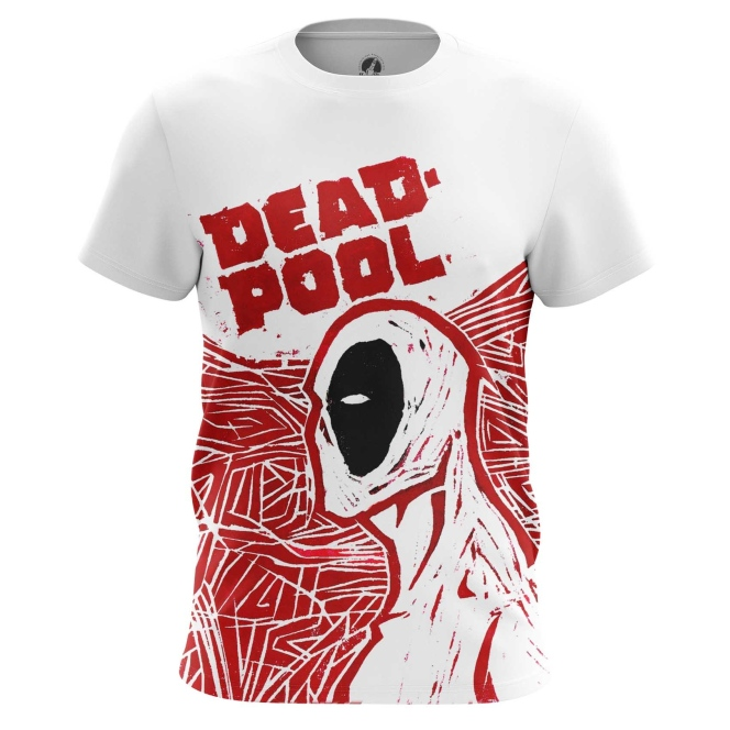 Buy Mens t shirt Deadpool Art Painted Picture Cartoon Merchandise collectibles