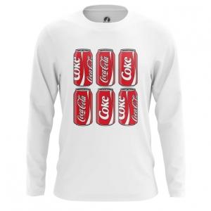Buy Long sleeve mens t shirt Coca Cola Steel Cans Merchandise merchandise collectibles