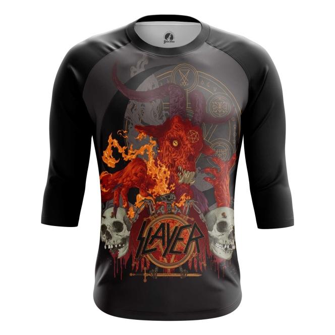 Buy Raglan sleeve mens t shirt Slayer Band Fan Merchandise Music Merchandise collectibles