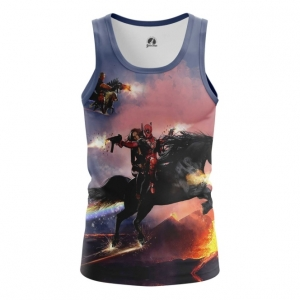 Buy Tank mens t shirt Cable & Deadpool Merch Apparel Merchandise collectibles