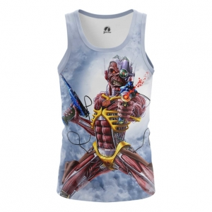 Buy Tank mens t shirt Iron maiden Merchandise Fan Art Cover Merchandise collectibles