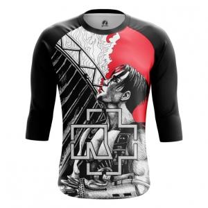 Buy Raglan sleeve mens t shirt Rammstein Merchandise Band Apparel Till Merchandise collectibles