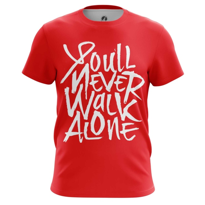 Buy Mens t shirt Liverpool You'll Never Walk Alone merchandise collectibles
