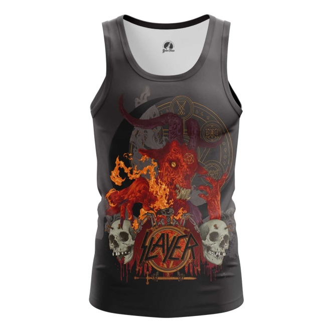 Buy Tank mens t shirt Slayer Band Fan Merchandise Music Merchandise collectibles