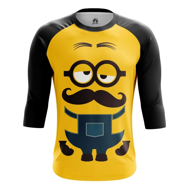 Buy Raglan sleeve mens t shirt Minions despicable me Apparel merchandise collectibles