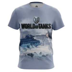 Buy Mens t shirt World of Tanks Ice Battle Force Tank Game Arcade Merchandise collectibles