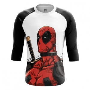 Buy Raglan sleeve mens t shirt Deadpool Angry Unicorn Apparel Merchandise collectibles