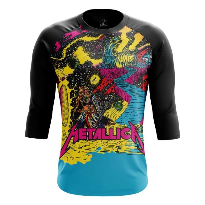 Buy Raglan sleeve mens t shirt metallica Merchandise Clothing Fan arts merchandise collectibles