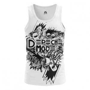 Buy Tank mens t shirt Depeche Mode merchandise Black and White Merchandise collectibles
