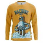 Collectibles Men'S Long Sleeve Ufc Machine Bender Futurama