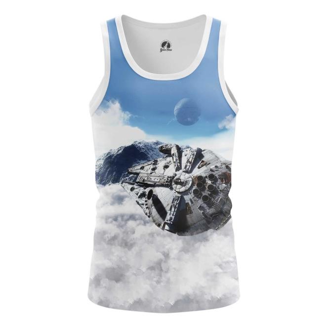 Buy Tank mens t shirt Millennium Falcon Star Wars merch merchandise collectibles