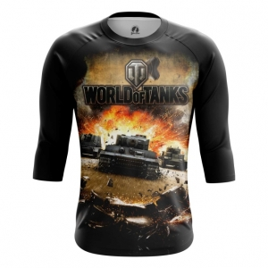 Buy Raglan sleeve mens t shirt World of Tanks Gaming Apparel Merchandise collectibles