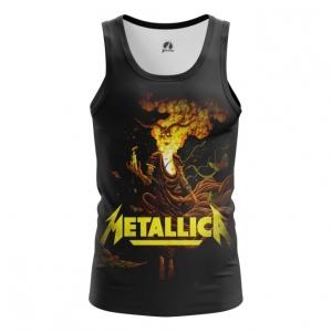 Buy Tank mens t shirt Metallica Band Apparel Merchandise Fans Props merchandise collectibles