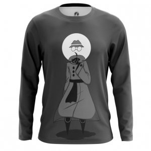 Buy Long sleeve mens t shirt Privacy Spy Mode Incognito Web Fun Art Merch Merchandise collectibles