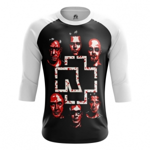 Buy Raglan sleeve mens t shirt Rammstein Music Merchandise Band Apparel Merchandise collectibles