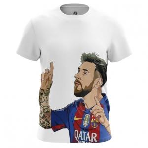 Buy Mens t shirt Lionel Messi Illustration Fan art merchandise collectibles