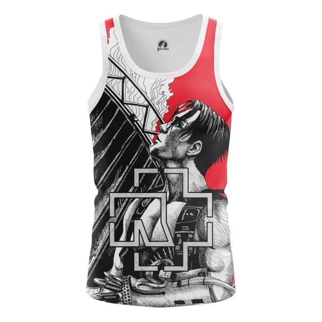 Buy Tank mens t shirt Rammstein Merchandise Band Apparel Till Merchandise collectibles