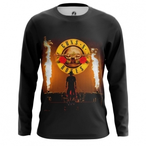 Buy Long sleeve mens t shirt Guns N' Roses Band Merchandise Apparel merchandise collectibles