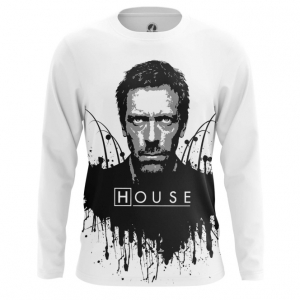 Buy Long sleeve mens t shirt House MD Merchandise Apparel merchandise collectibles