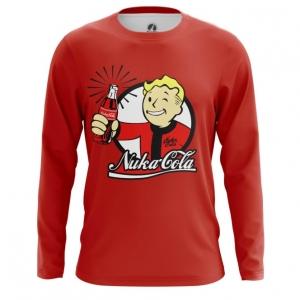 Buy Long sleeve mens t shirt Nuka Cola Wallpaper Vault Boy Fallout Merchandise collectibles