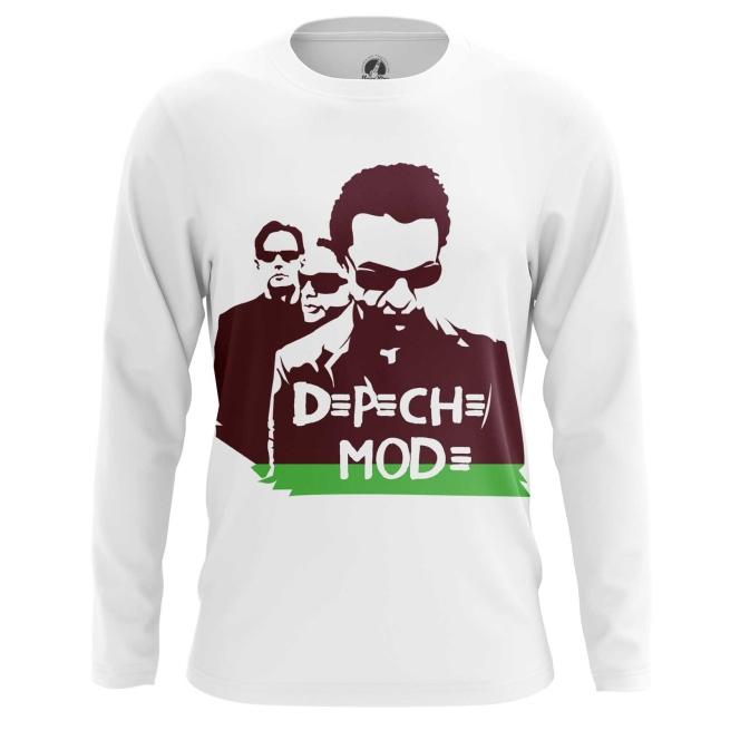 Buy Long sleeve mens t shirt Depeche Mode merchandise apparel Merchandise collectibles
