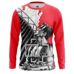 Buy Long sleeve mens t shirt Rammstein Merchandise Band Apparel Till Merchandise collectibles