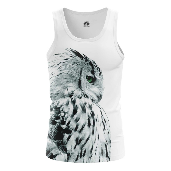 Buy Tank mens t shirt Polar Owl Birds Art Animals Apparel Shirts Merchandise collectibles