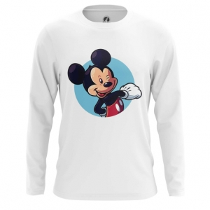 Buy Long sleeve mens t shirt Mickey Mouse Disney Merchandise Apparel art Merchandise collectibles