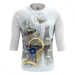 Buy Raglan sleeve mens t shirt Sonic the hedgehog Rings Game art merchandise collectibles