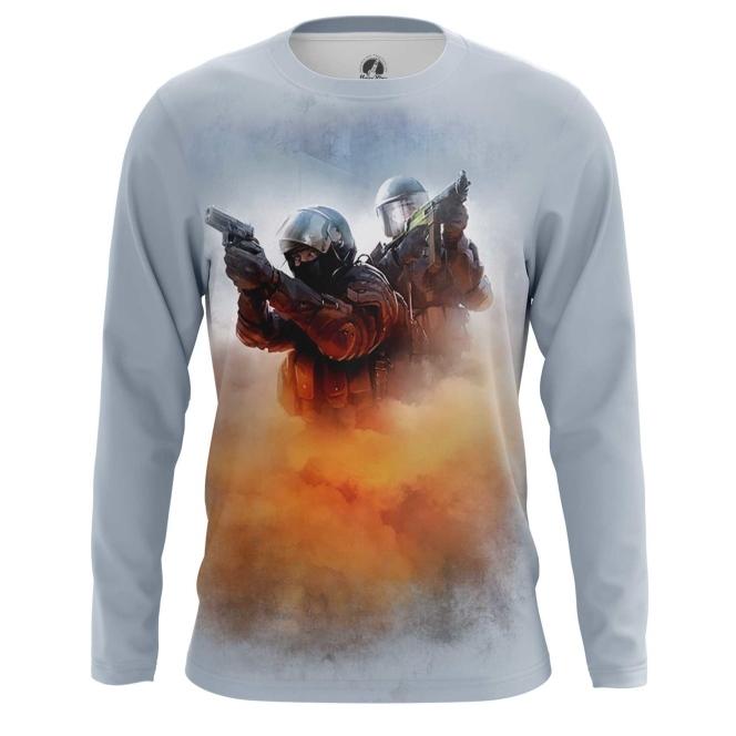 Buy Long sleeve mens t shirt CS GO Shooter Merchandise Game sport Merchandise collectibles