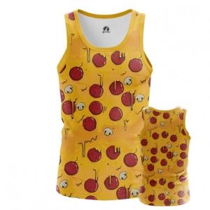 Buy Tank mens t shirt Pizza Pattern Art Food Apparel merchandise collectibles