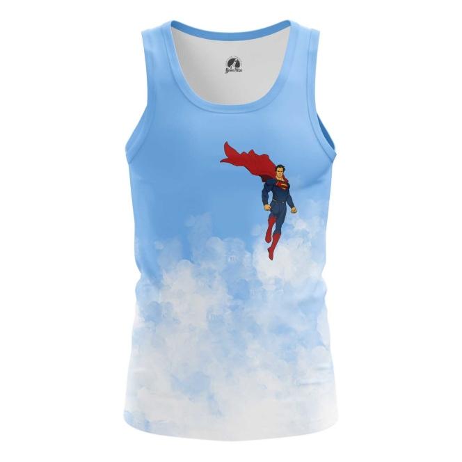 Buy Tank mens t shirt Superman Clark Kent DC Art merchandise collectibles