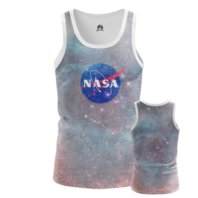 Buy Tank mens t shirt NASA Space Merchandise Universe Apparel космос Merchandise collectibles