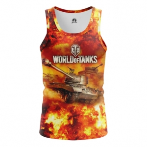 Buy Tank mens t shirt World of Tanks in Fire Gaming Arcade Merchandise collectibles
