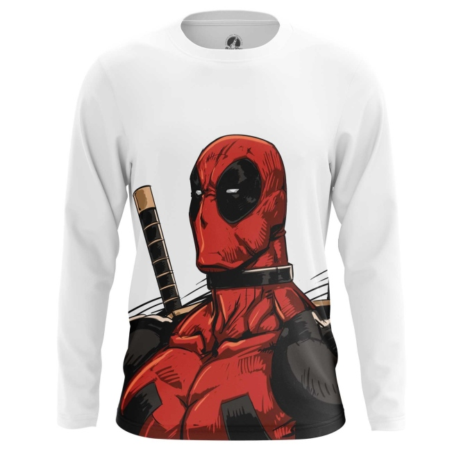 Buy Long sleeve mens t shirt Deadpool Angry Unicorn Apparel Merchandise collectibles