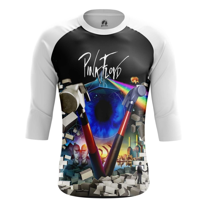 Buy Raglan sleeve mens t shirt Pink Floyd Music Merchandise Band Apparel merchandise collectibles