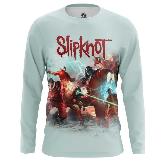 Buy Long sleeve mens t shirt Slipknot Band Merchandise Apparel merchandise collectibles
