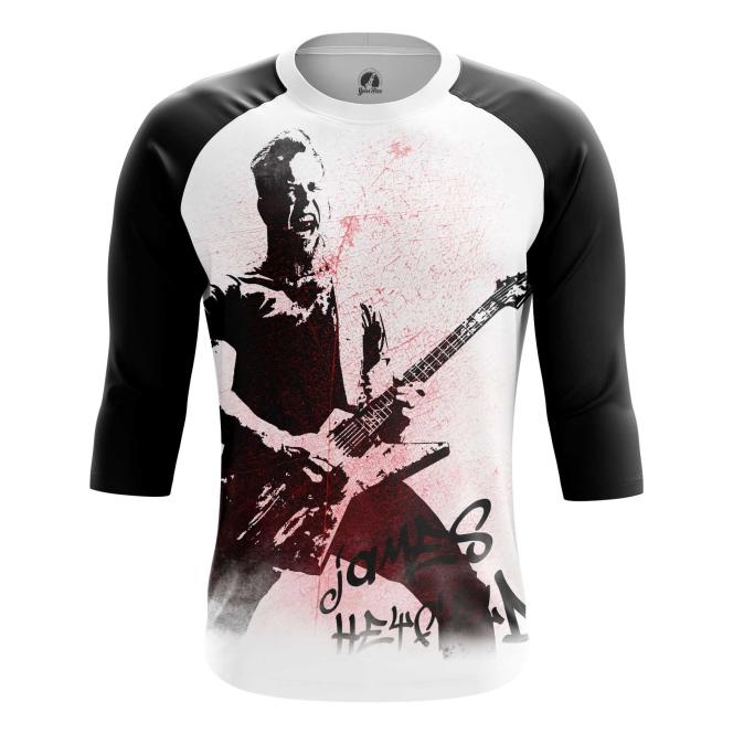 Buy Raglan sleeve mens t shirt James Hetfield Metallica Fan Merchandise merchandise collectibles